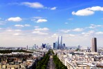 Tours Hermitage Plaza - vue Paris